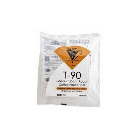 Filtro Papel Cafec Light Roast 2 - 4 tazas (100 unidades)