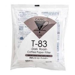 Filtro Papel Cafec Dark Roast 2 - 4 tazas (100 unidades)