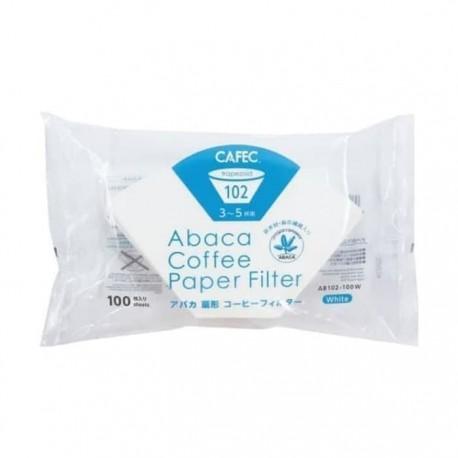 Filtro Abaca Cafec tamaño 2. 100 unidades