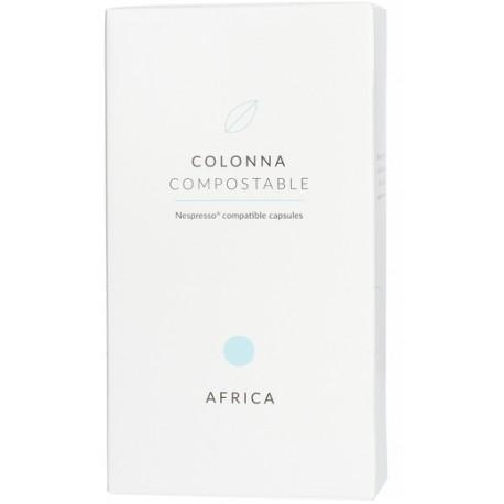 Colonna Coffee Cápsulas Nespresso Africa Compostable. Pack de 10.