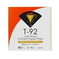 Filtro Papel Cafec Light Roast 2 - 4 tazas (40 unidades)