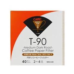 Filtro Papel Cafec Medium Dark Roast 2 - 4 tazas (40 unidades)