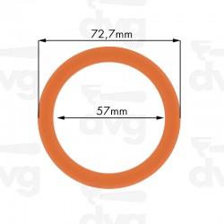 Junta portafiltros silicona para Faema 72,7x57x8mm