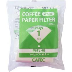 Filtro Papel Tradicional Cafec 1 taza (100 unidades)