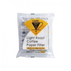 Filtro Papel Cafec Light Roast 1 taza (100 unidades)