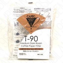 Filtro Papel Cafec Medium Dark Roast 1 taza (100 unidades)