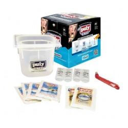 Puly Caff Soak Cleaning System. Kit completo para la limpieza de cafeteras.