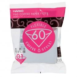 Filtro Papel Hario V60 1 -2 tazas (100 unidades)