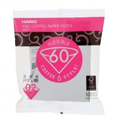Filtro Papel Hario V60 3 - 4 tazas (100 unidades)