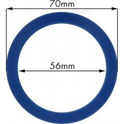 Junta portafiltros silicona para Cimbali, Nuova Simonelli 70x56x9mm