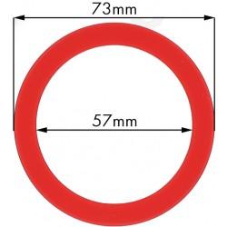 Junta portafiltros silicona para Faema, E61, 73x57x9mm