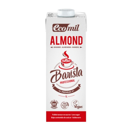Ecomil Almond Barista Pack 6 unidades