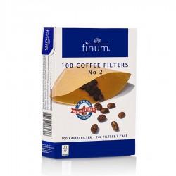 Filtro café de papel Finum tamaño 2. 100 unidades